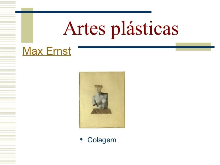 Artes plásticas  Max Ernst      Rei a brincar   com a Rainha