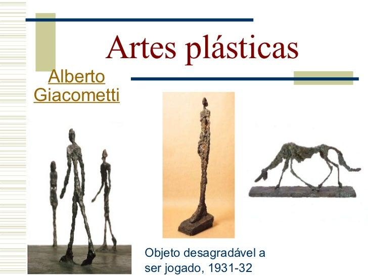 Artes plásticas  Alberto Giacometti                           A mulher Mulher deitada que                                 ...