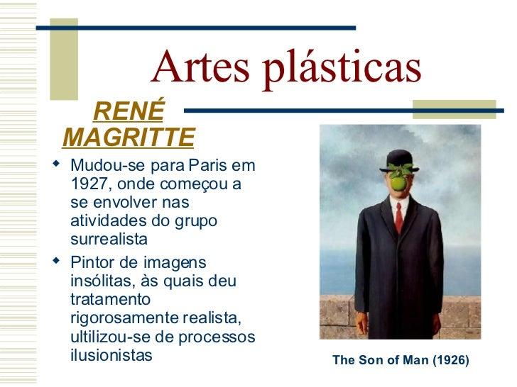 Artes plásticas   RENÉ MAGRITTE