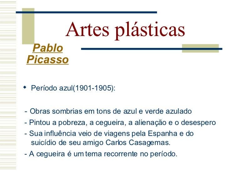 Artes plásticas       Pablo      Picasso     The Blind man's Meal (1903)   La Vie (1903)