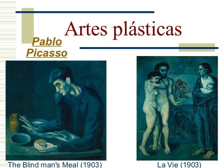 Artes plásticas   Pablo  Picasso  Período Rosa (1905 -1907):  - Quando se apaixonou por Fernande Olivier, suas pinturas  ...
