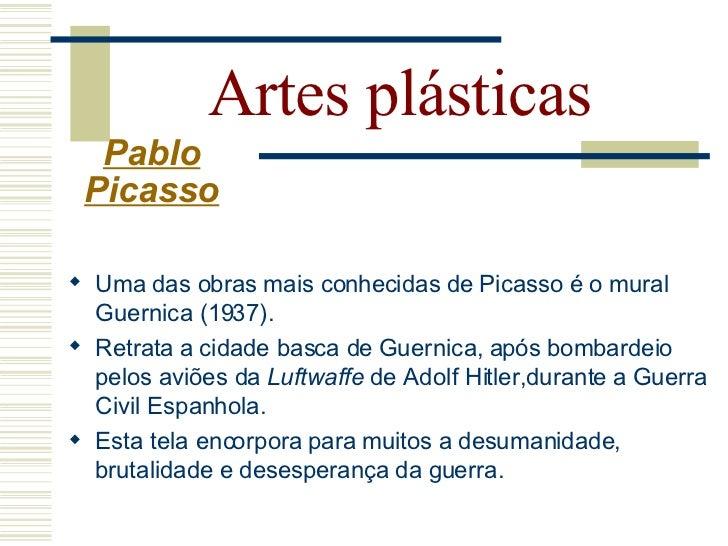 Artes plásticas Pablo Picasso