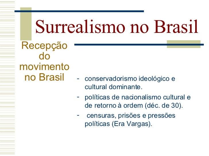 Surrealismo no Brasil Principais  autores:            Cícero Dias                           Melancia
