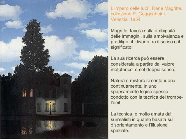 L Impero Delle Luci Magritte.Surrealismo