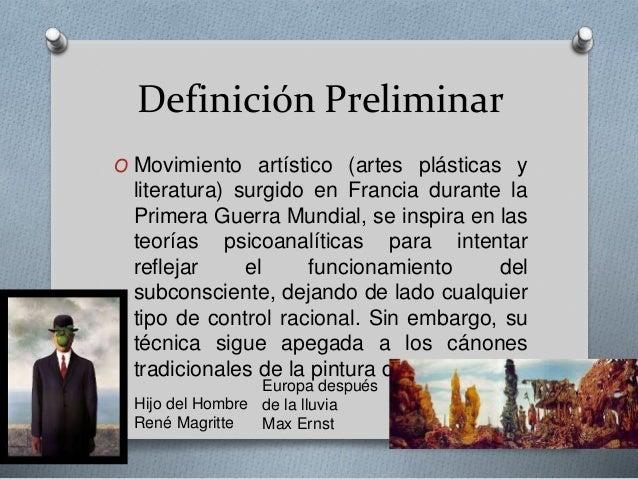 Surrealismo en am rica latina for Definicion de estilo en arquitectura