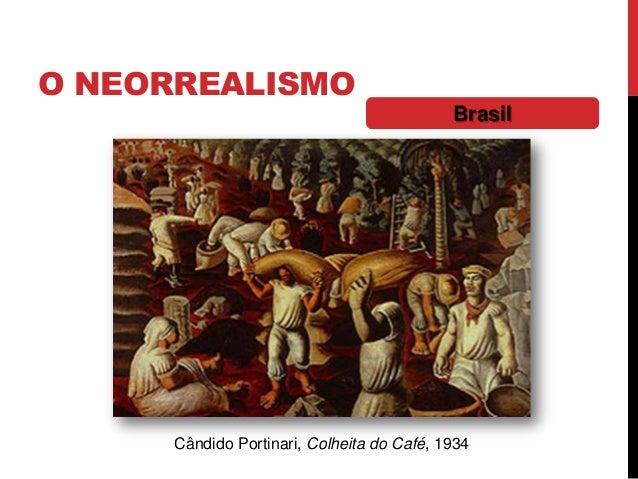O NEORREALISMOBrasilCândido Portinari, Colheita do Café, 1934