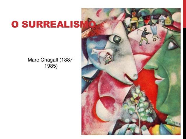 O SURREALISMOMarc Chagall (1887-1985)