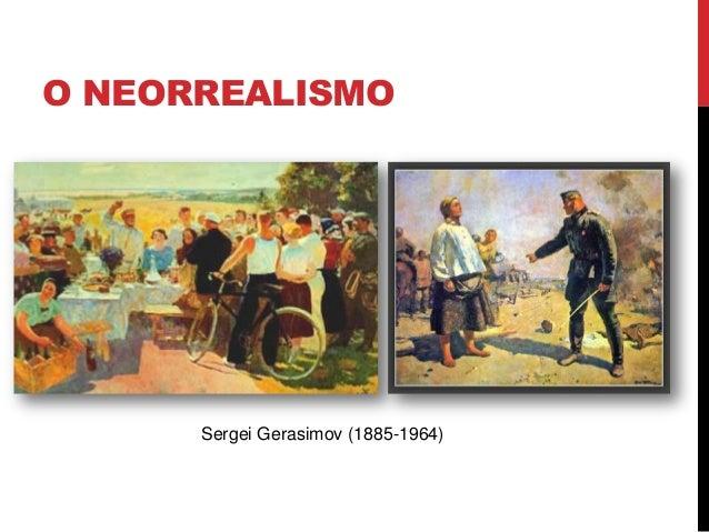 O NEORREALISMOSergei Gerasimov (1885-1964)