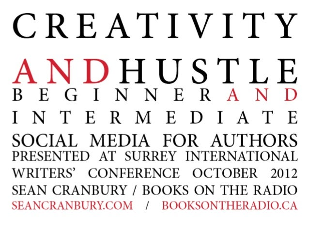 Creativity and Hustle: Beginner and Intermediate Social Media for Authors