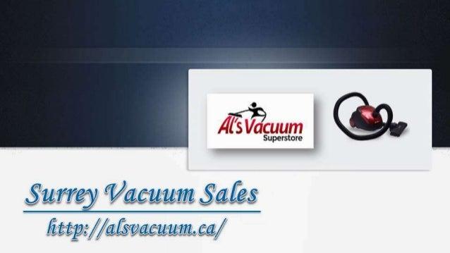 Surrey Vacuum Sales