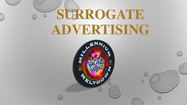 surrogate advertising Surrogate advertisements: a case of proxy war by prof jitendra k sharma  lecturer-mba shri rgp gujarati professional institute ab road.