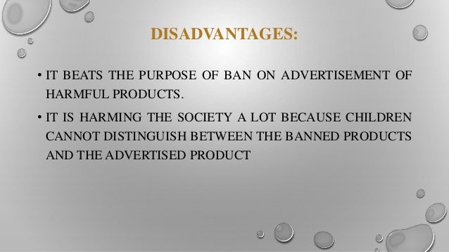 impact of surrogate advertising on purchase of consumers But the makers of most of these products resort to 'surrogate advertising' – a sort   advertisements do have great impact on children whether it is decision of  purchasing  consumers and all concerned with advertising - advertisers, media, .
