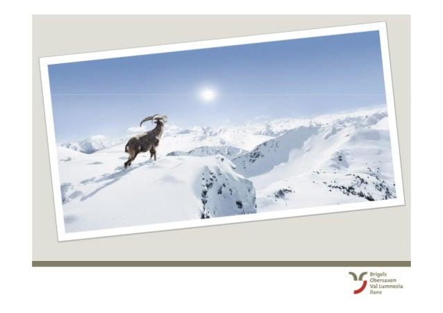Surselva Tourismus AG: 2. Winter Kick-Off fuer Mitarbeitende mit Gästekontakt (Brigels-Waltensburg-Andiast) Slide 2