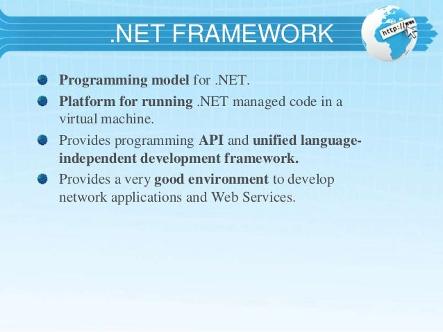 Introduction To  Net And Asp