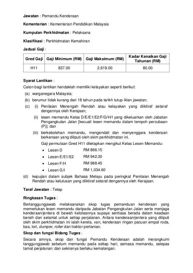 Jawatan Kosong Suruhanjaya Perkhidmatan Pelajaran Spp April 2014