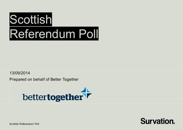 Survation.better together-voting-intention-tables