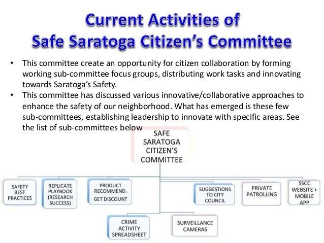 OLD The Saratoga Neighborhood Surveillance Camera initiative