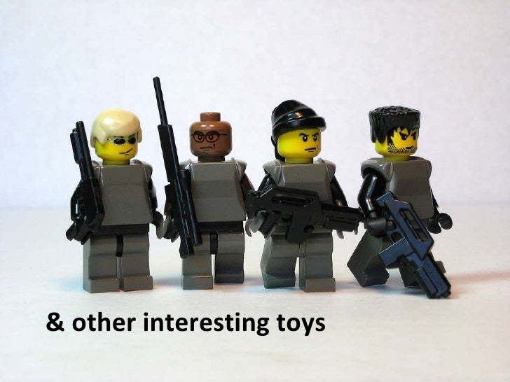 & other interesting toys
