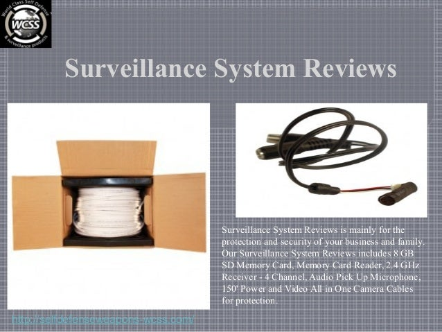 Surveillance System Reviews Surveillance System Reviews is mainly for the protection and security of your business and fam...