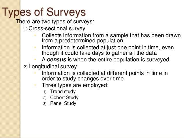 U.S. Survey Research