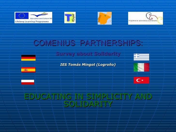 Survey on Solidarity OCOBRE 2010- SPAIN