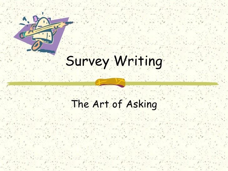 How to Write a Proper Survey Introduction