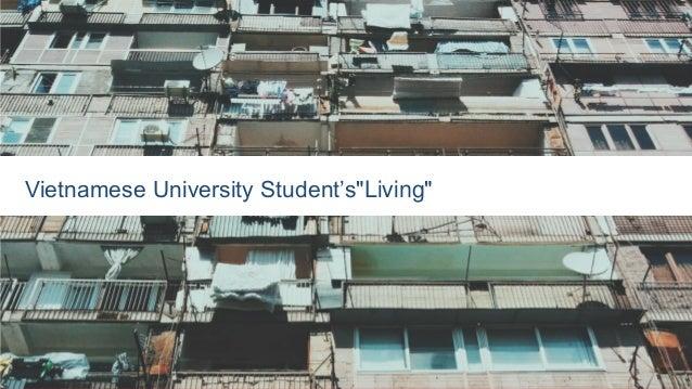 "Vietnamese University Student's""Living"""