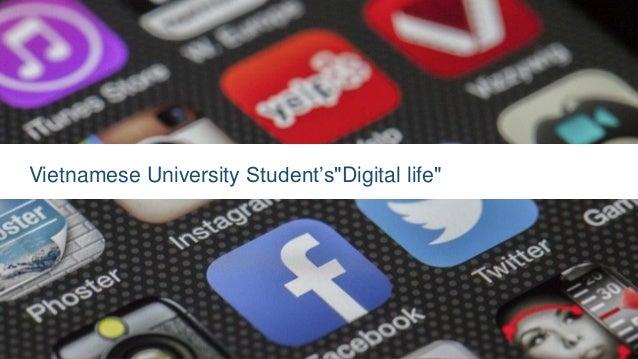 "Vietnamese University Student's""Digital life"""