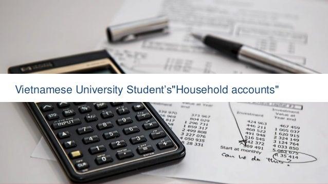 "Vietnamese University Student's""Household accounts"""
