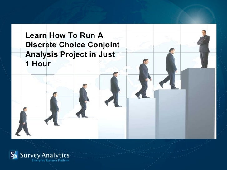 Introduction  Learn How To Run A  Discrete Choice Conjoint Analysis Project in Just  1 Hour