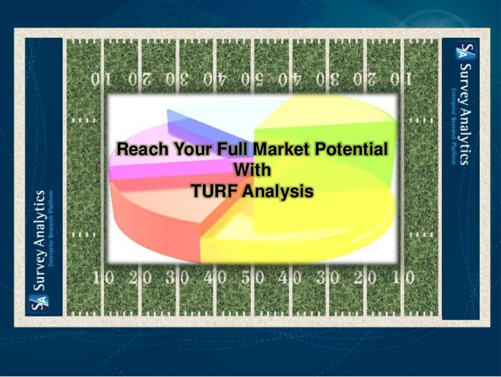 Reach Your Full Market Potential             With        TURF Analysis