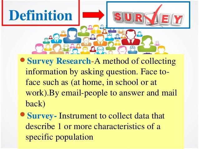 Survey | Define Survey at Dictionary.com