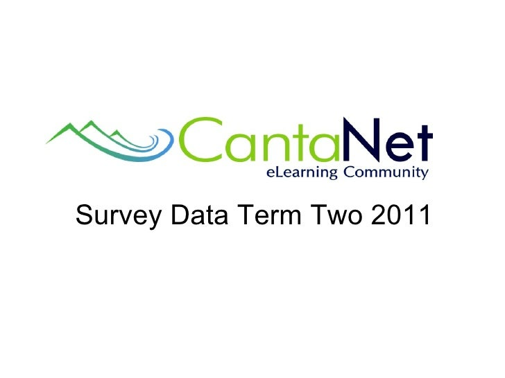 Survey Data Term Two 2011