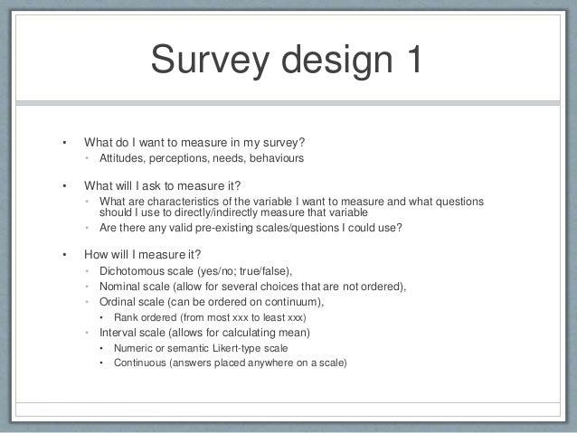 Survey design basics for Office design survey questions