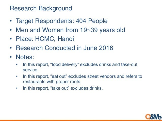 [Survey]food delivery demand in vientnam Slide 2