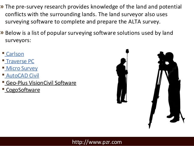 Surveying Software Solutions for Professional Land Surveyors