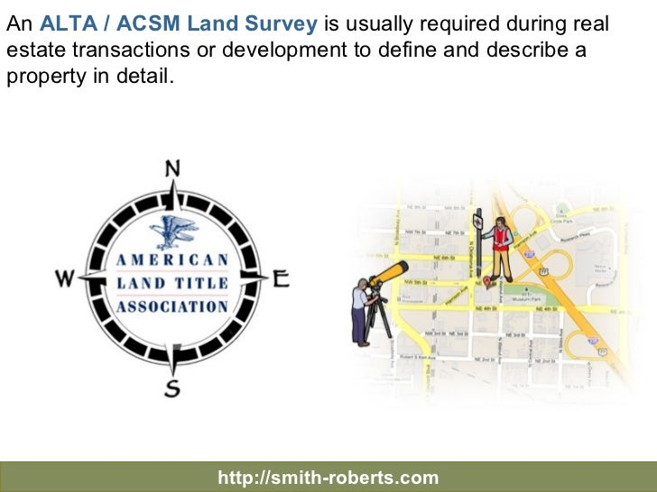 Surveying the Property - Table A - Significant Optional Survey Requirements Slide 2