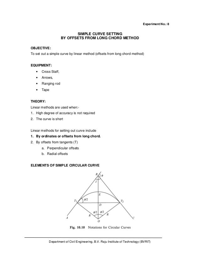 Surveying-1 practical pdf download lecturenotes for free.