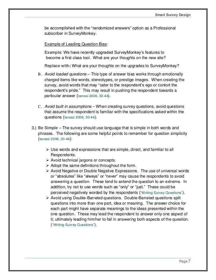 surveymonkey smart survey design guide