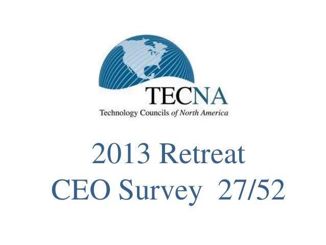 2013 RetreatCEO Survey 27/52