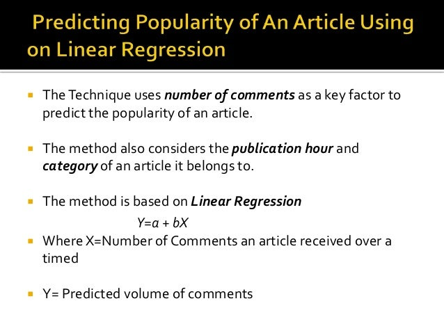 Comments  Repository  Regression  Based on  publication  hours  Regression  Based on  category  How the Proposed  Techniqu...