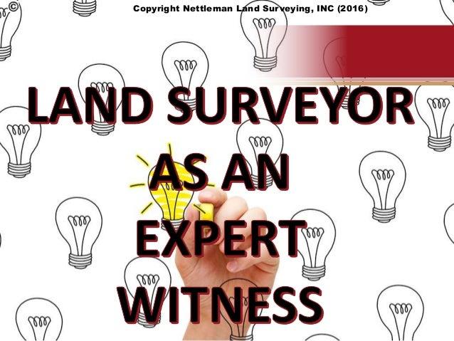 Copyright Nettleman Land Surveying, INC (2016)