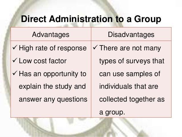 direct survey method