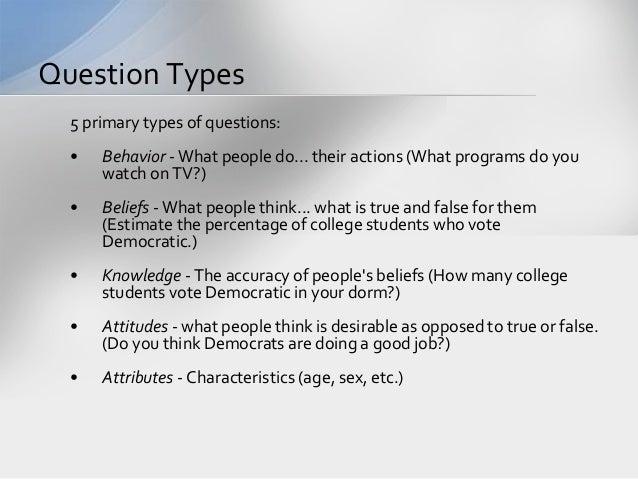 simple survey template