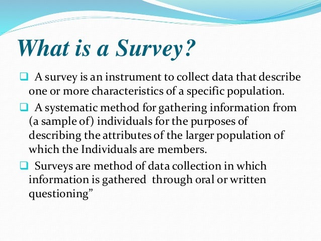 research method on survey in study habits Current research journal of social sciences 4(3): a survey of students study habits in selected secondary schools: study do not adopt effective study methods.