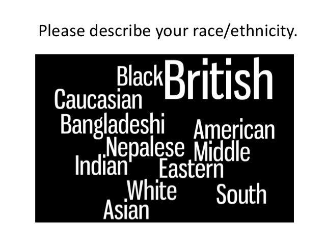 Please describe your race/ethnicity.