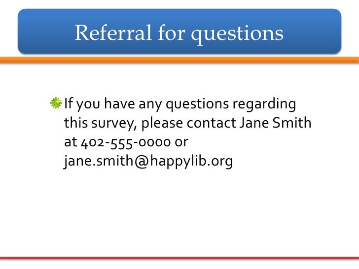Ncompass live conducting surveys i introduction and for Household survey questionnaire design