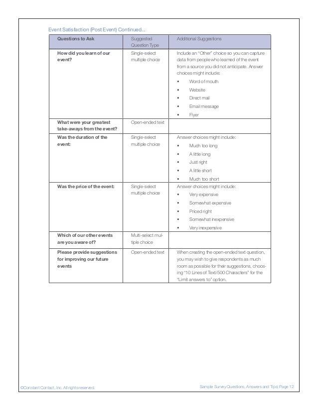 customer satisfaction survey sample tips