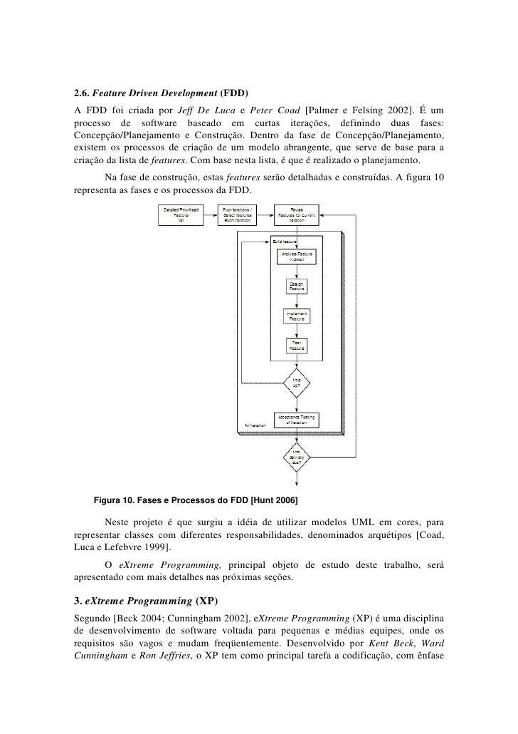 2.6. Feature Driven Development (FDD)A FDD foi criada por Jeff De Luca e Peter Coad [Palmer e Felsing 2002]. É umprocesso ...