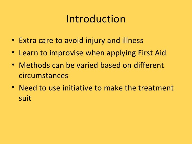 Survival - First Aid Awareness - 715Squadron Slide 3